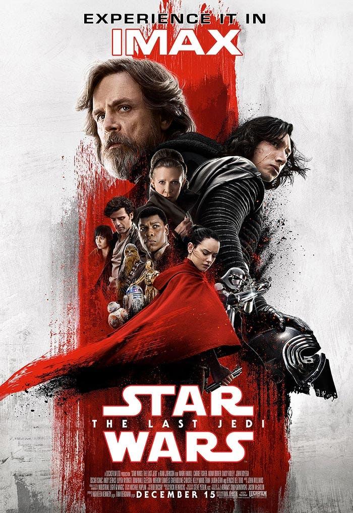 Póster de Star Wars: Los Últimos Jedi (2017)