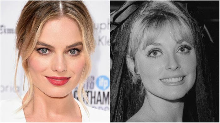 Margot Robbie y Sharon Tate