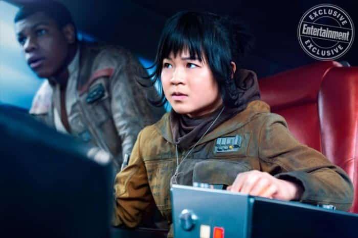 La misión de Finn (John Boyega) y Rose Tico (Kelly Marie Tran) en Star Wars: Los Últimos Jedi (2017)