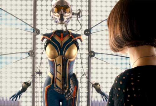 La Avispa tendrá su propia misión durante 'Ant-Man y la Avispa' de Marvel.