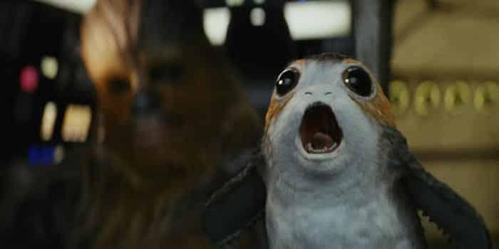 Porgs en Star Wars: Los Últimos Jedi (2017)