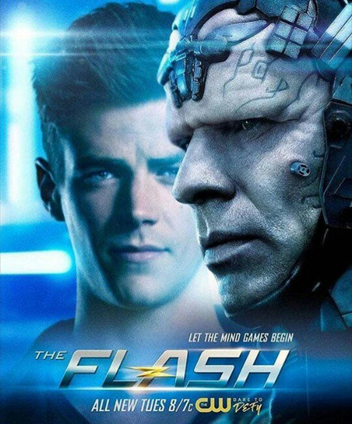 Póster oficial de 4x07 de The Flash