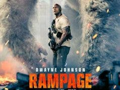 rampage con Dwayne Johnson