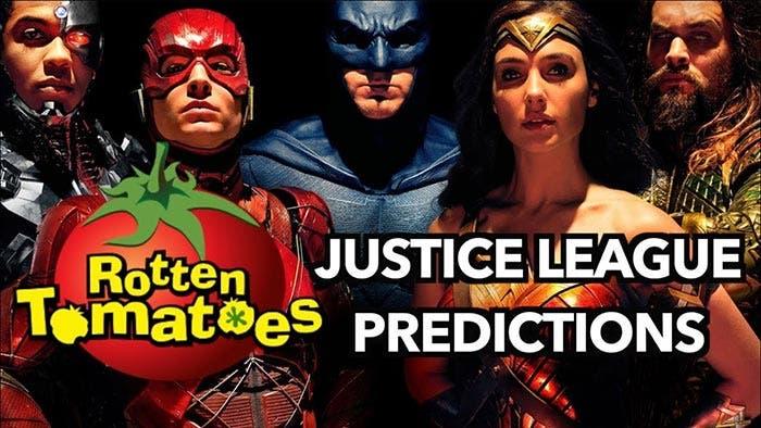 Nota de la Liga de la Justicia en Rotten Tomatoes