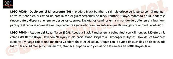 SPOILERS Black Panther (2018)