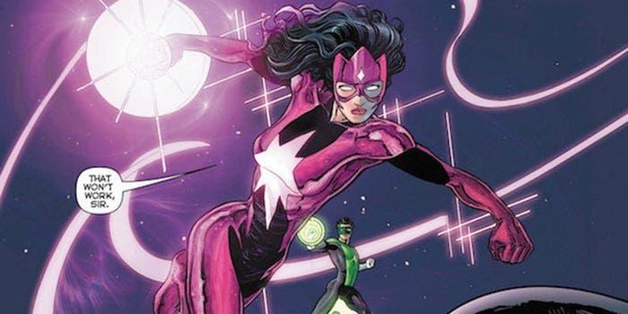 Star Sapphire en la Liga de la Justicia 2