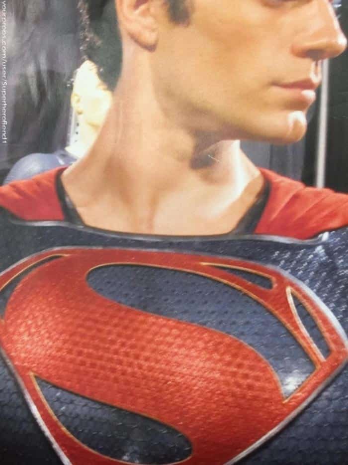 Traje alternativo del Superman de Henry Cavill