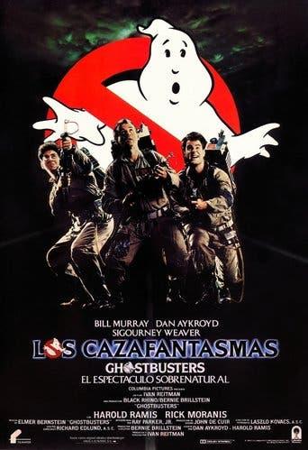 """Poster for the movie """"Los cazafantasmas"""""""