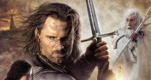 """Poster for the movie """"El señor de los anillos: El retorno del Rey"""""""