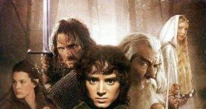 """Poster for the movie """"El señor de los anillos: La comunidad del anillo"""""""