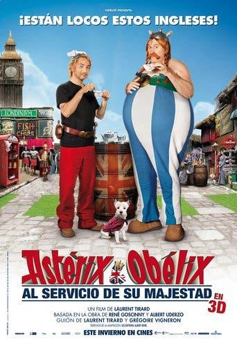 """Poster for the movie """"Astérix y Obélix: Al servicio de su majestad"""""""