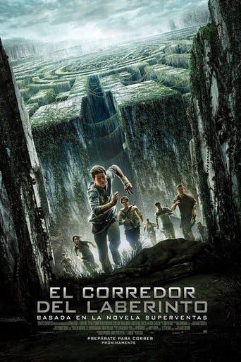 """Poster for the movie """"El corredor del laberinto"""""""
