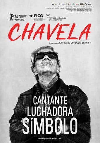 "Poster for the movie ""Chavela"""