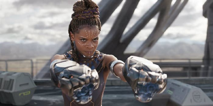 Black Panther Shuri Letitia Wright