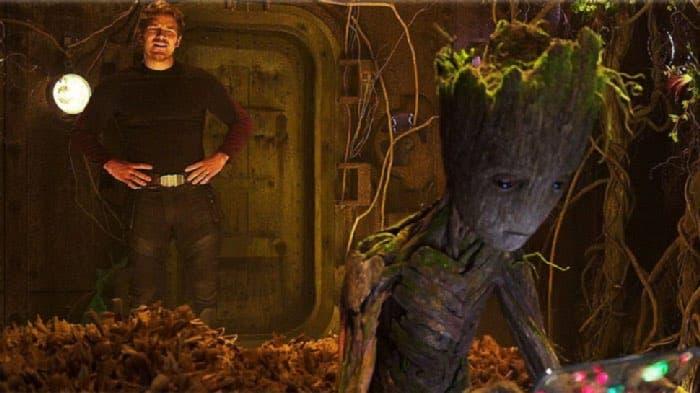 Teenage Groot in Guardians of the Galaxy Vol 2