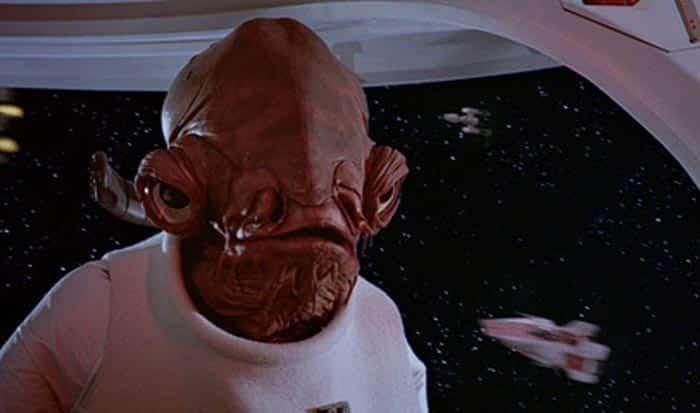 Star Wars: El enfado del actor que interpretó al Almirante Ackbar