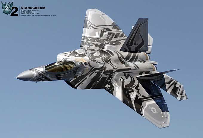 concept art Transformers: La venganza de los caídos
