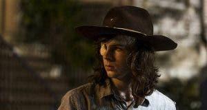 Carl en The Walking Dead