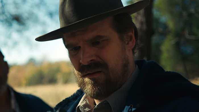 David Harbour en Stranger Things 3