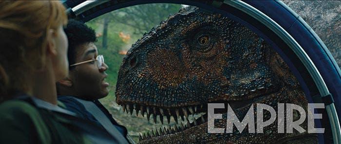 Dinosaurio en Jurassic World 2: El reino caído