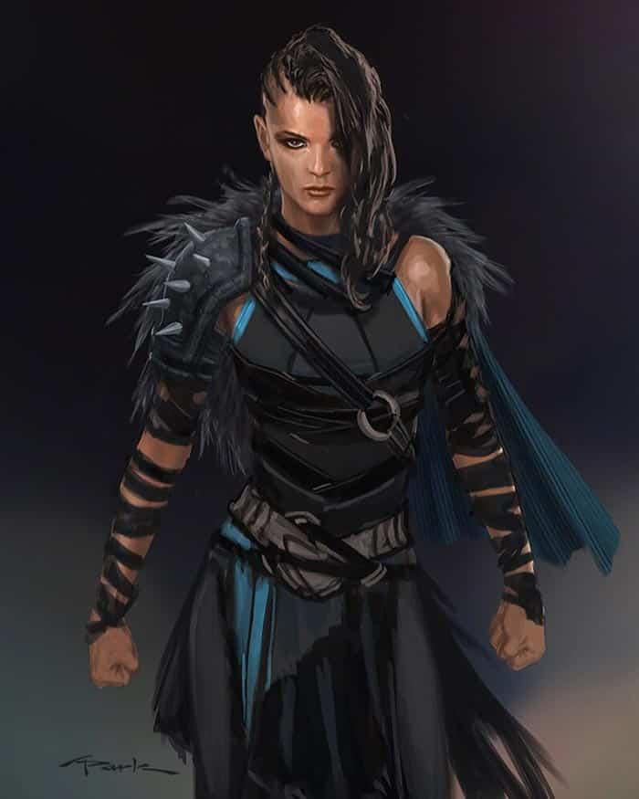 Valquiria en Thor: Ragnarok | Concept art