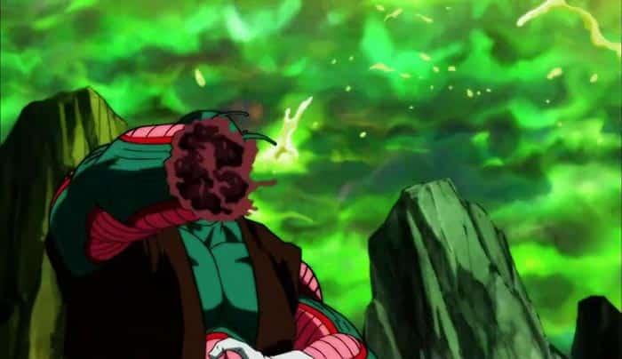 Dragon Ball Super y la sangre