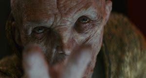 Snoke en Star Wars: Los Últimos Jedi (2017)