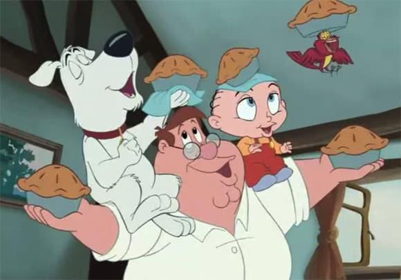 family guy - Padre de Familia Disney
