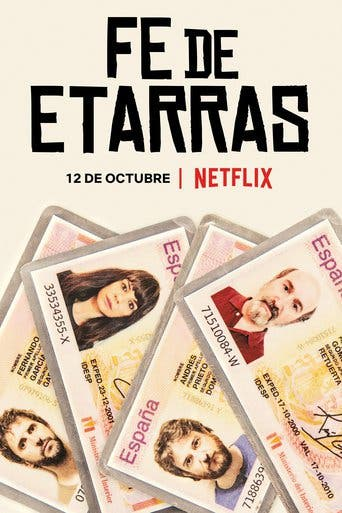 "Poster for the movie ""Fe de etarras"""