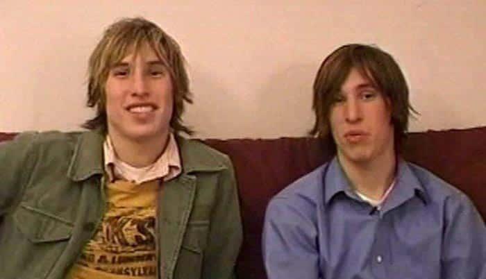 Los gemelos de Arizona que querían ser como Brad Pitt