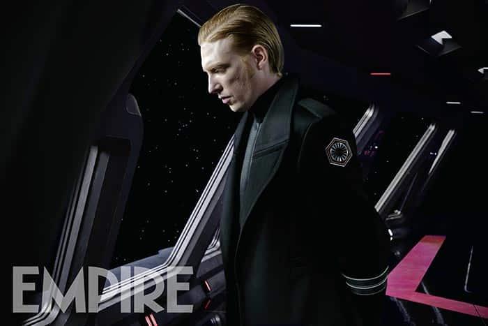 General Hux en Star Wars: Los Últimos Jedi (2017)