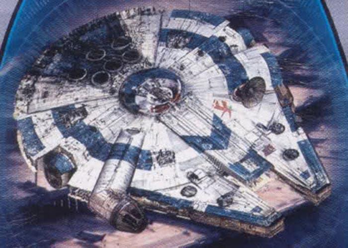Halcón Milenario en Han Solo (Solo: A Star Wars Story)
