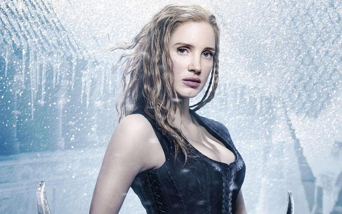 jessica chastain the huntsman winters war