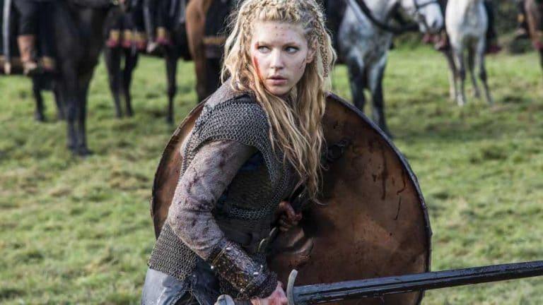 katheryn winnick como lagertha vikingos