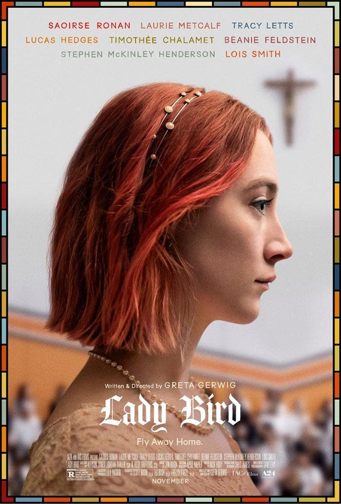 Lady Bird en Rotten Tomatoes