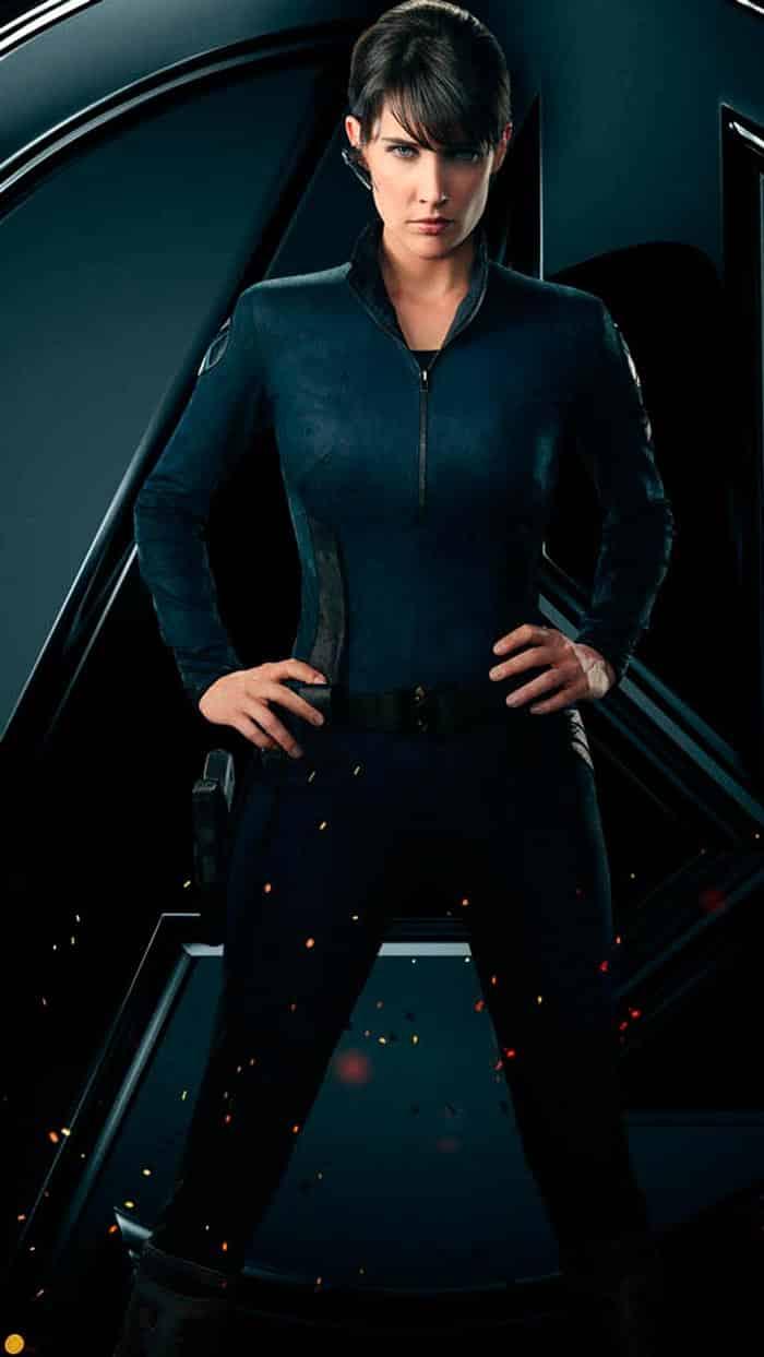 los vengadores Cobie Smulders Maria Hill