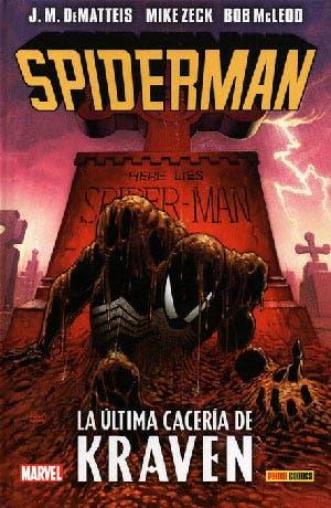 Portada de Spider-man La última cacería de Kraven
