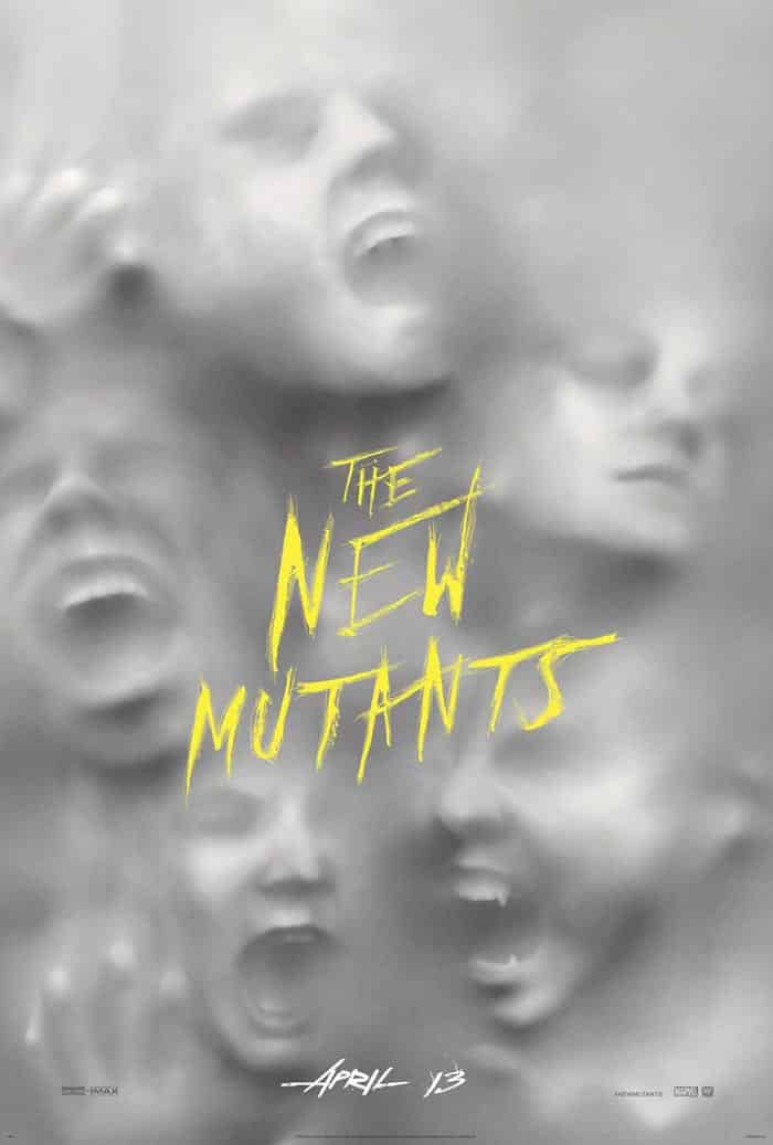 Póster de X-Men: The New Mutants