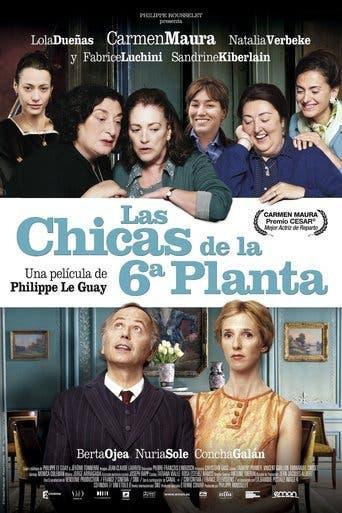 """Poster for the movie """"Las chicas de la 6ª planta"""""""