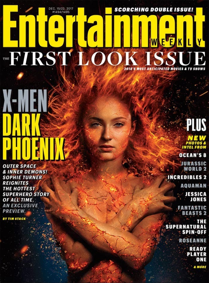 Sophie Turner en X-Men: Dark Phoenix (2018)