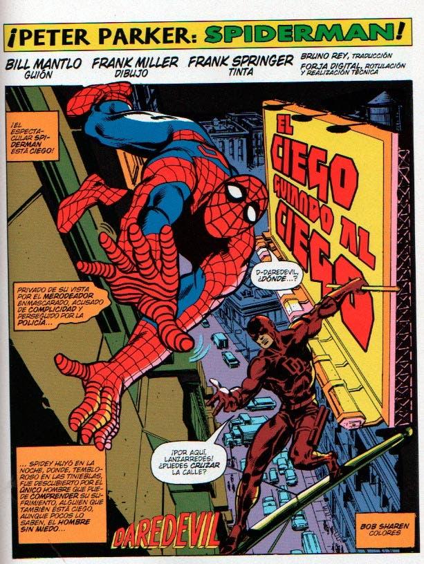spider-rman y Daredevil