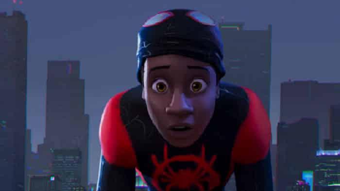 Spider-Man into the spider verse la película de animación de Sony
