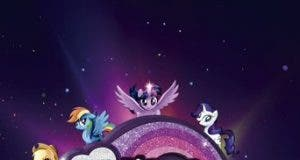 """Poster for the movie """"My Little Pony: La película"""""""