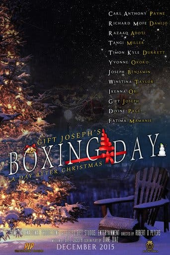 """Poster for the movie """"Boxing Day: A Day After Christmas"""""""