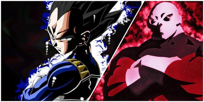 Vegeta vs Jiren en Dragon Ball Super