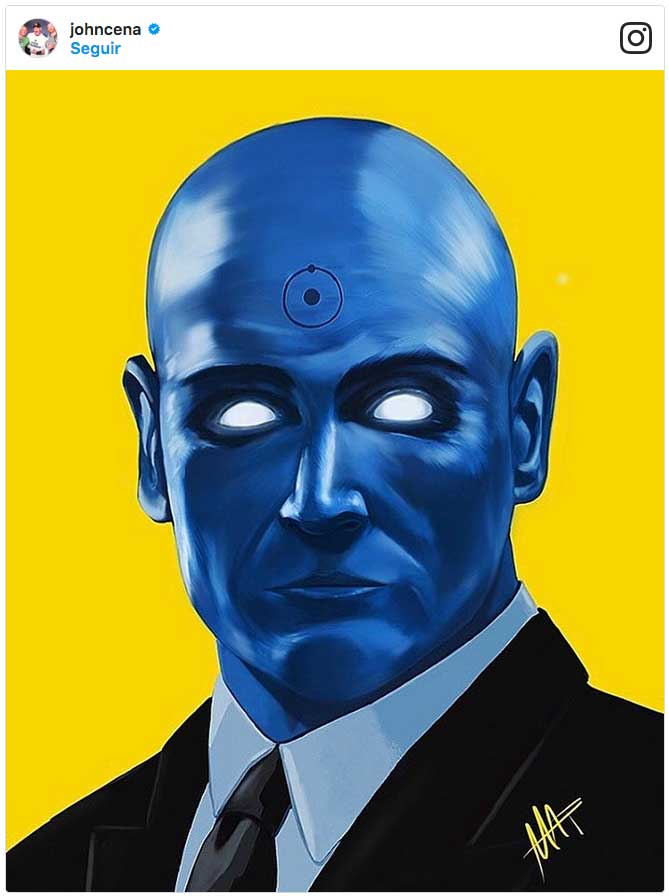 John Cena Dr Manhattan Watchmen