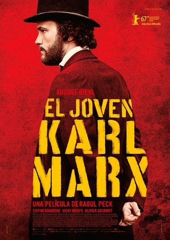 Poster de 'El joven Karl Marx'