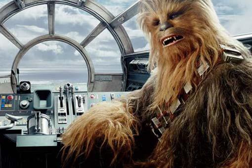 Chewie Star Wars: Los últimos Jedi
