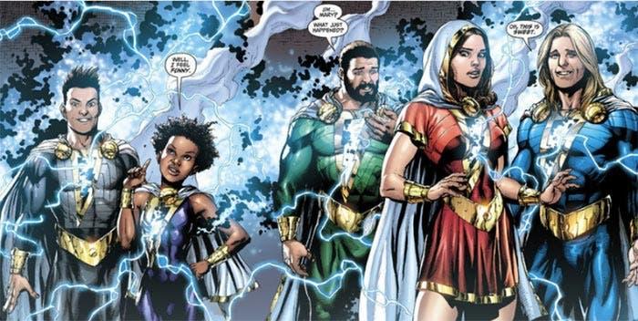 La Familia Marvel en Shazam