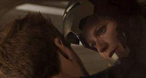 Pepper Potts con armadura de Iron man en Vengadores: Infinity War